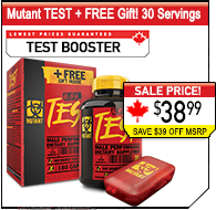 Mutant Test + FREE GIFT, 38