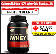 Optimum Nutrition 100% Whey Gold Standard, 2lb