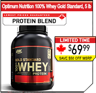 Optimum Nutrition Whey Gold Standard, 5 lb