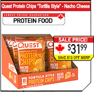 Quest Nutrition Tortilla Style Chips