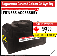 Supplements Canada / C4 Gym Bag