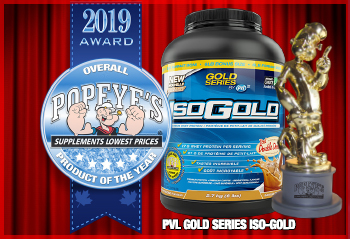 Product Of The Year Award: PVL ISO GOLD