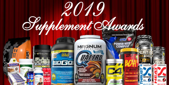 2019 SUPPLEMENT AWARDS