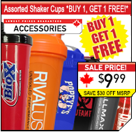 Assorted Shaker Cup Sale!