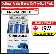 Optimum Nutrition Amino Energy Sticks