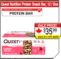 Quest Nutrition Protein Snack Bars 39