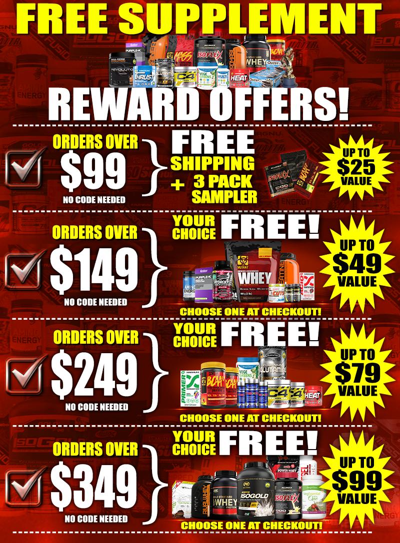 Supplements Canada VALUE REWARDS!!