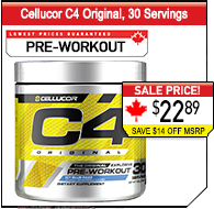 Cellucor C4 30 Serving