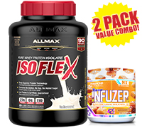 allmax-isoflex-unflavoured-beyond-flavour-infuzer-combo