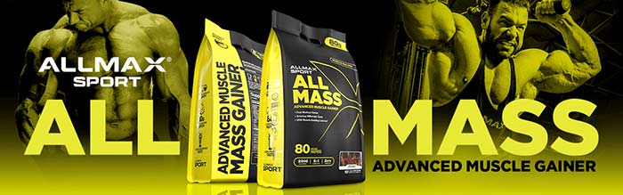 Allmax Sport ALLMASS - Vanilla - www.supplementscanada.com
