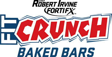 Fir Crunch Baked Bars - Chef Robert Irvine FortiFX