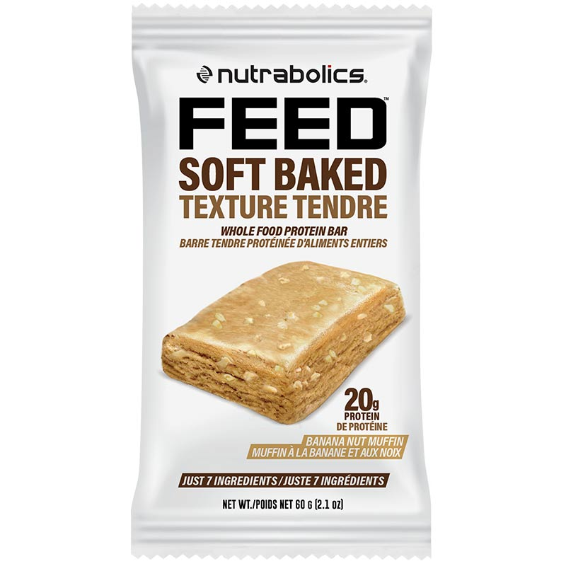 Feed Bar Soft Baked Whole Food Protein bar