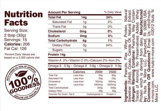 Nuts 'N More - Toffee Crunch - www