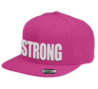 popeyes-flatbrim-cap-strong-pink