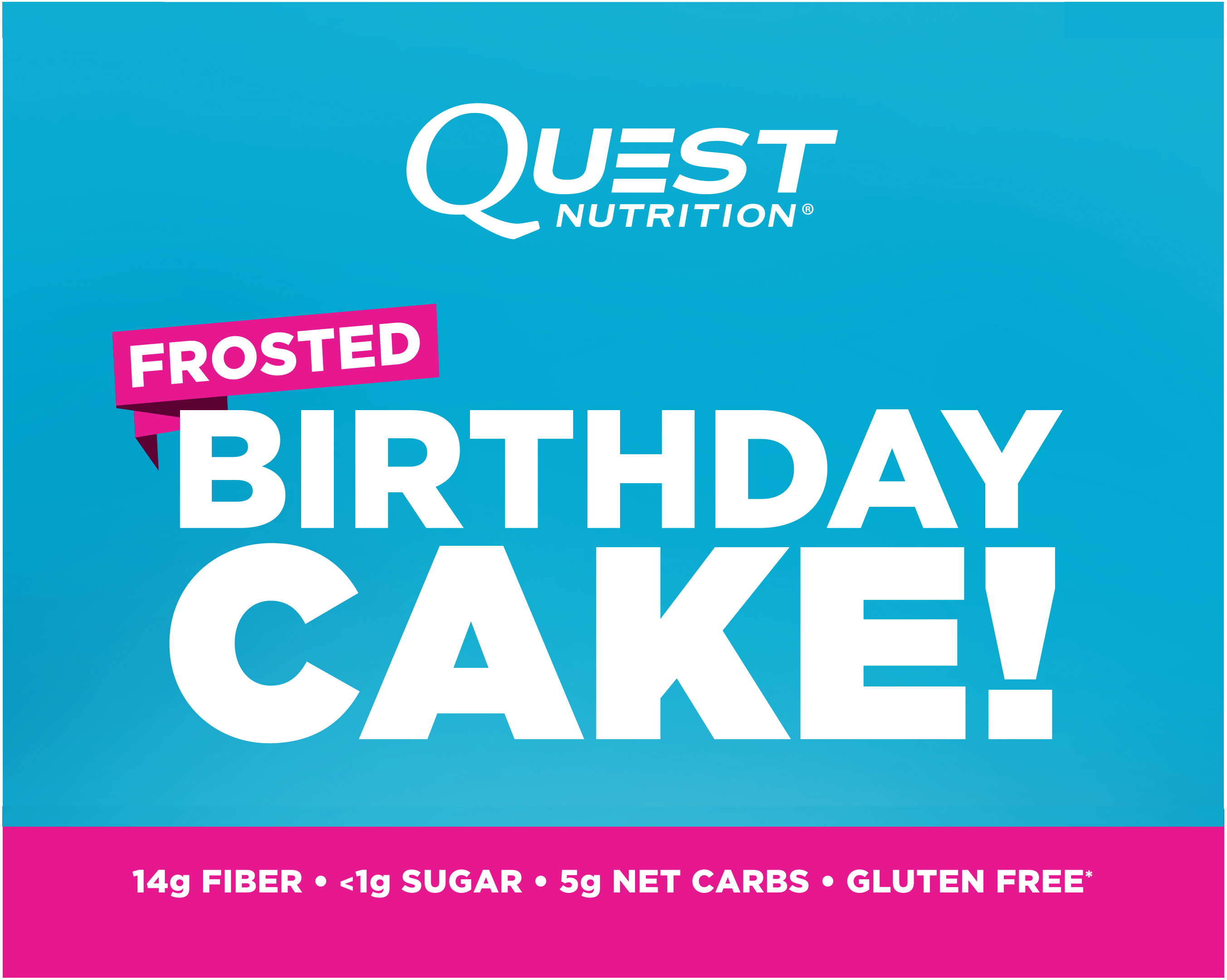Quest Birthday Cake Nutrition
