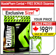 MusclePharm Combat 10lb Exclusive