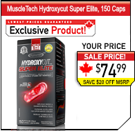 MuscleTech Hydroxycut Hardcore Elite, 110 Rapid-Release Thermo Caps