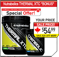 Nutrabolics Thermal XTC Combo