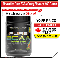 Revolution Pure BCAA Candies